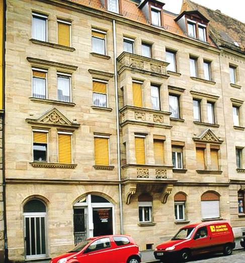 Sandsteinrenovierung Denkmalschutzanwesen Glückstraße Fürth